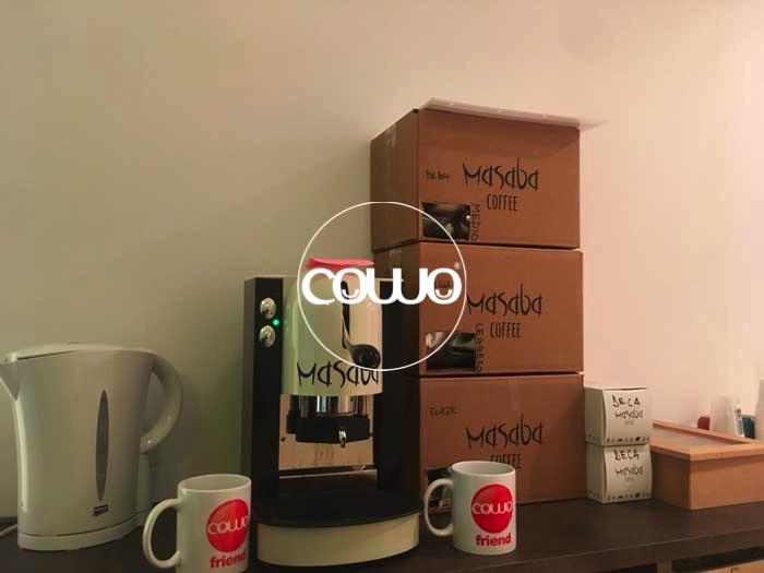 Angolo Caffè al Coworking Lugano Nord by Cowo