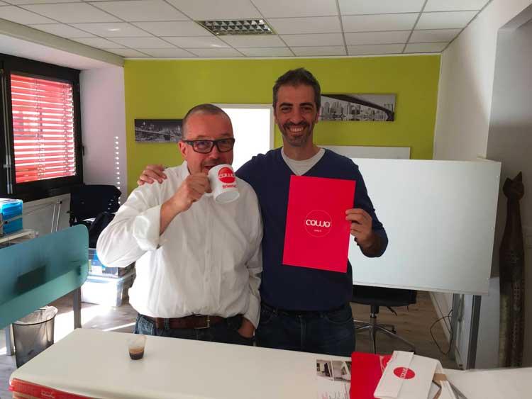 Stefano e Davide di Coworking Lugano Nord