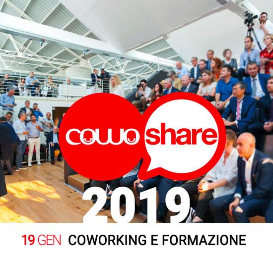 Evento CowoShare 2019