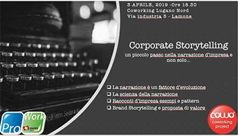 Corporate Storytelling al Coworking Lugano